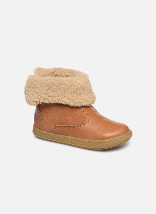 Bottines et boots Shoo Pom Bouba Fur Boots Marron vue détail/paire