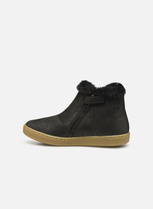 Ankle boots Shoo Pom Play Yeti Black front view