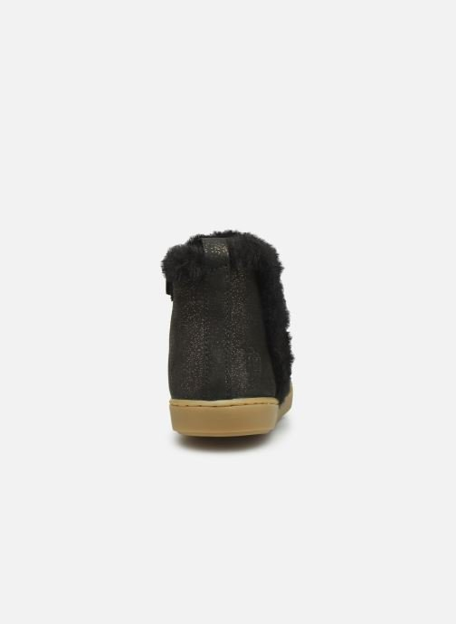 Ankle boots Shoo Pom Play Yeti Black view from the right