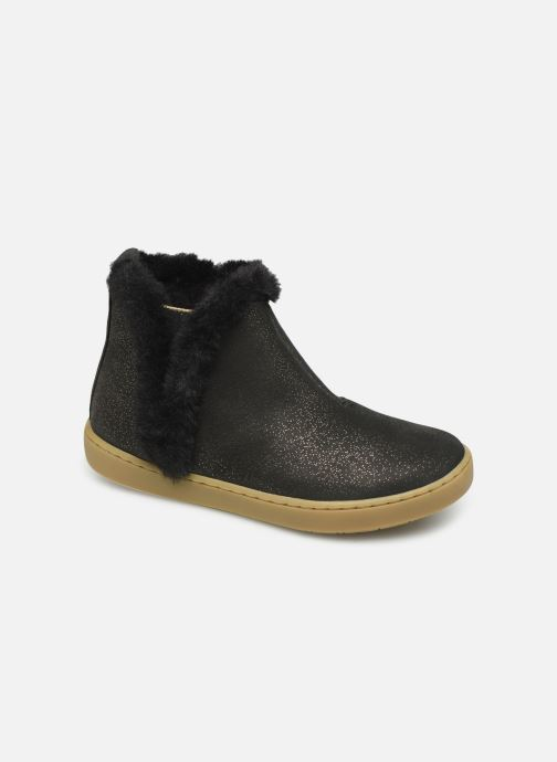 Ankle boots Shoo Pom Play Yeti Black detailed view/ Pair view