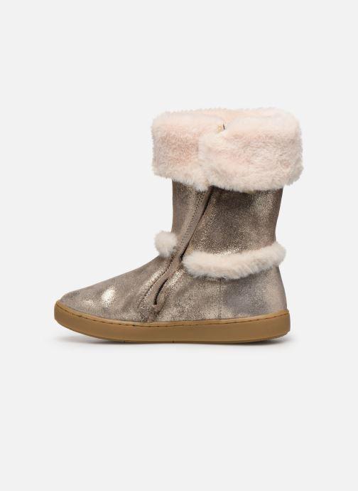 Bottines et boots Shoo Pom Play Moot Or et bronze vue face