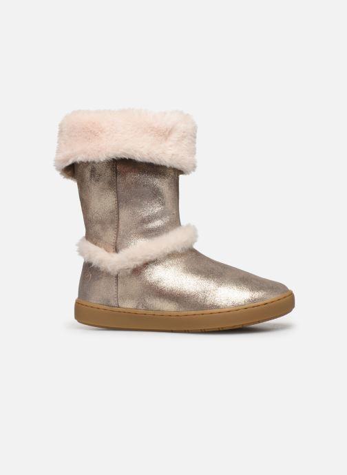 Bottines et boots Shoo Pom Play Moot Or et bronze vue derrière