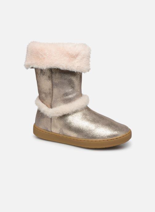 Bottines et boots Shoo Pom Play Moot Or et bronze vue détail/paire