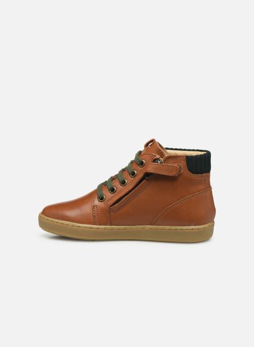 Sneakers Shoo Pom Play Desert Zip Bruin voorkant