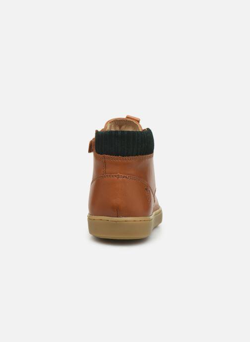 Sneakers Shoo Pom Play Desert Zip Bruin rechts