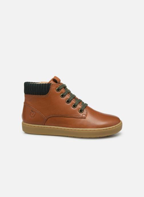 Sneakers Shoo Pom Play Desert Zip Bruin achterkant