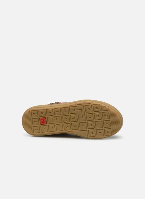 Sneakers Shoo Pom Play Desert Zip Bruin boven