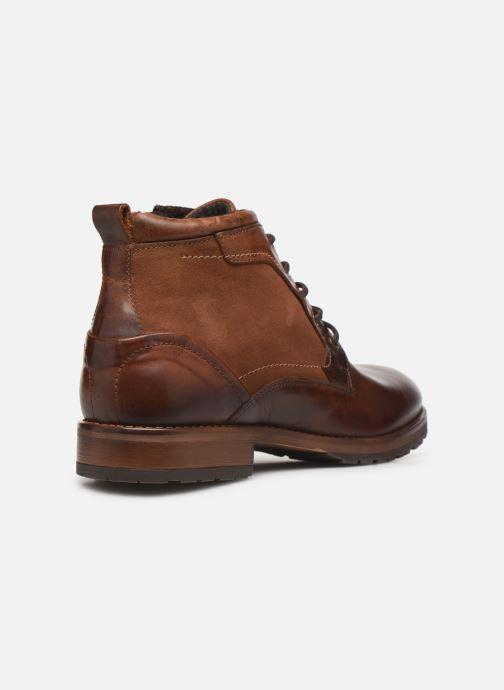 Boots en enkellaarsjes Mr SARENZA Coxencio Bruin voorkant