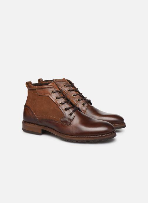 Boots en enkellaarsjes Mr SARENZA Coxencio Bruin achterkant