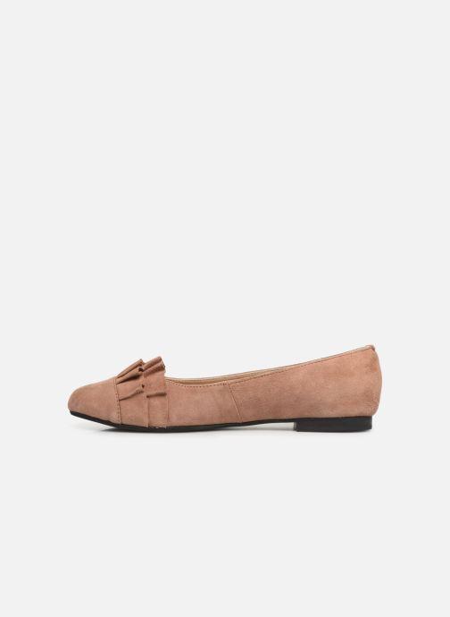 Ballerina's Shoe the bear ALEXA FRILLS Beige voorkant