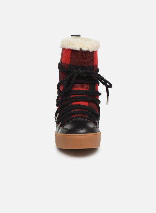 Boots en enkellaarsjes Shoe the bear TRISH CHECK WOOL Rood model