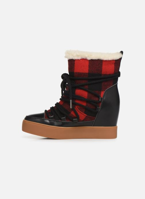 Botines  Shoe the bear TRISH CHECK WOOL Rojo vista de frente