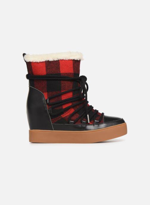 Bottines et boots Shoe the bear TRISH CHECK WOOL Rouge vue derrière