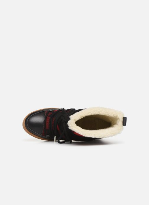 Boots en enkellaarsjes Shoe the bear TRISH CHECK WOOL Rood links