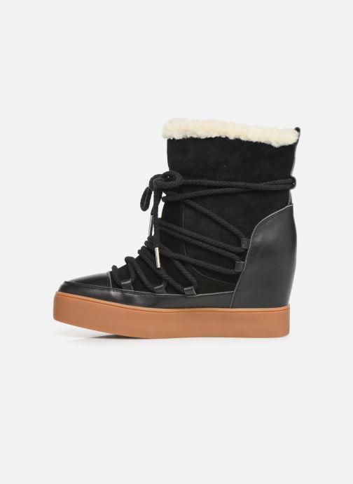 Bottines et boots Shoe the bear TRISH WOOL Noir vue face