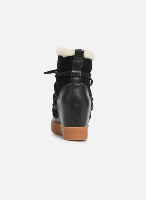 Bottines et boots Shoe the bear TRISH WOOL Noir vue droite