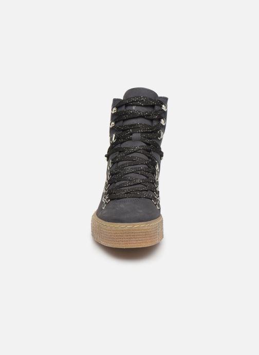 Bottines et boots Shoe the bear AGDA N Bleu vue portées chaussures
