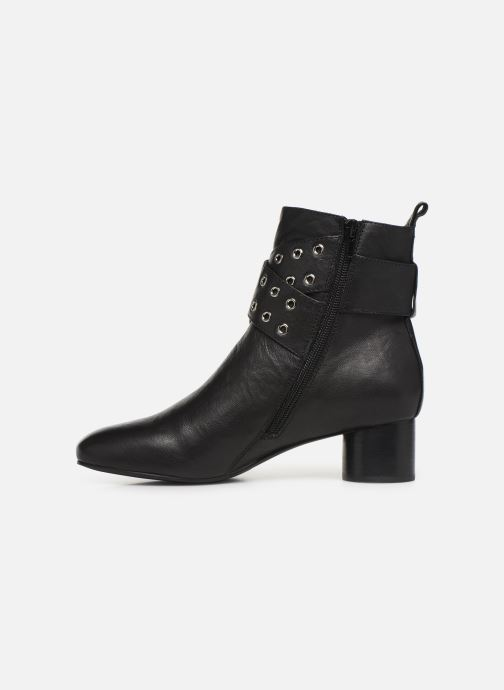 Ankle boots Shoe the bear AYA BUCKLE L Black front view