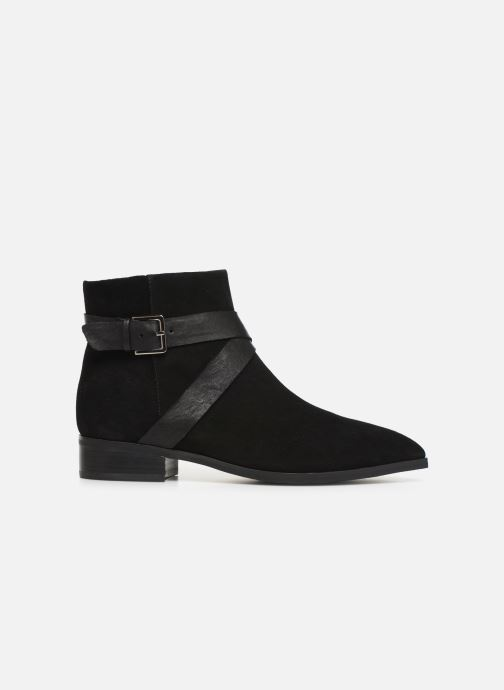 Ankle boots Shoe the bear LINN BUCKLE S Black back view