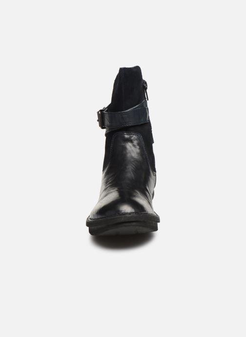 Bottines et boots Khrio 10623K SAVANA Bleu vue portées chaussures