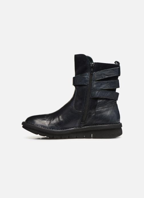 Bottines et boots Khrio 10623K SAVANA Bleu vue face