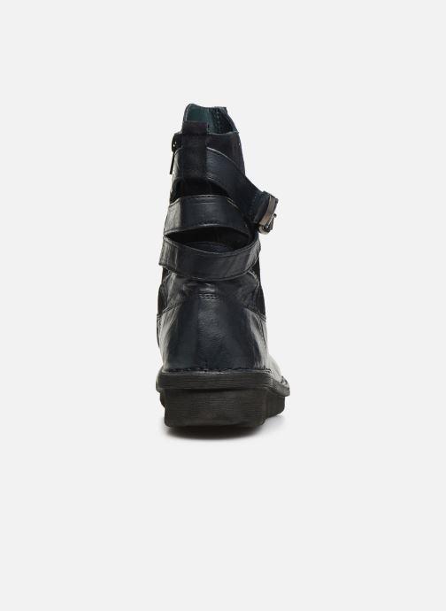 Bottines et boots Khrio 10623K SAVANA Bleu vue droite