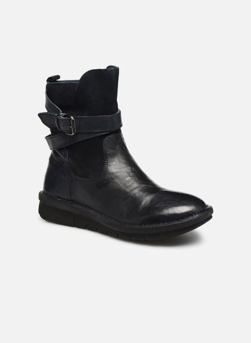 Bottines et boots Khrio 10623K SAVANA Bleu vue détail/paire