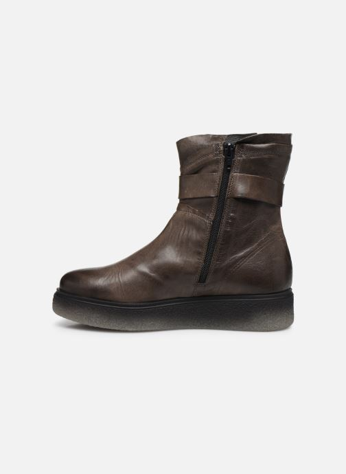 Bottines et boots Khrio 10661 CLARA Gris vue face