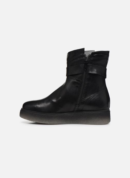 Bottines et boots Khrio 10661 CLARA Noir vue face