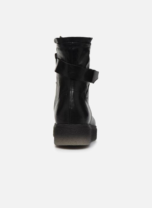 Bottines et boots Khrio 10661 CLARA Noir vue droite