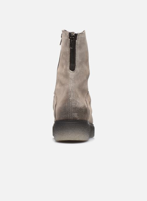 Bottines et boots Khrio 10660 Gris vue droite