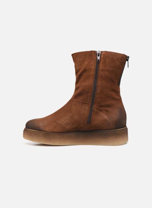 Bottines et boots Khrio 10660 Marron vue face