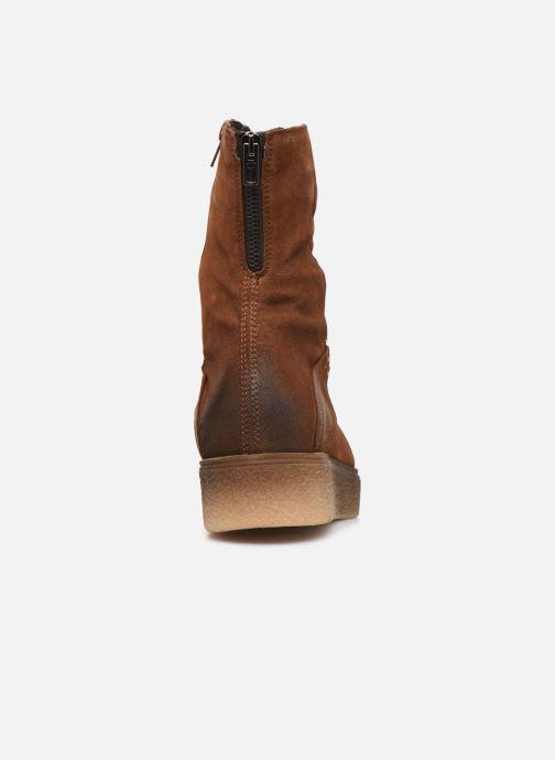 Bottines et boots Khrio 10660 Marron vue droite