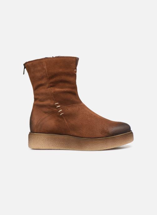 Bottines et boots Khrio 10660 Marron vue derrière