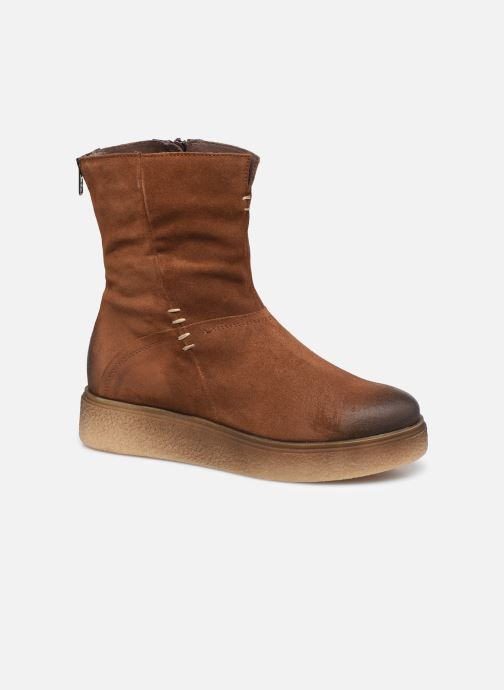 Bottines et boots Khrio 10660 Marron vue détail/paire