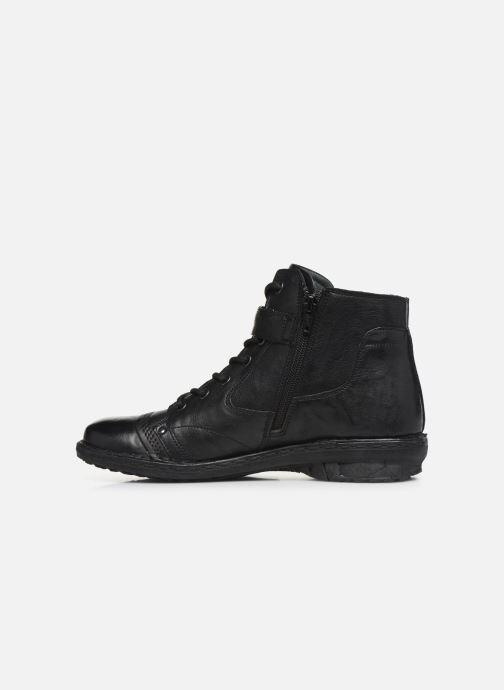 Bottines et boots Khrio 10500K Noir vue face