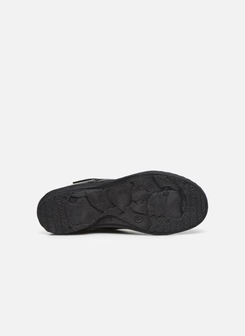 Bottines et boots Khrio 10500K Noir vue haut