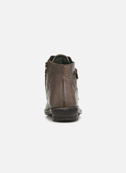 Ankle boots Khrio 10500K Grey view from the right