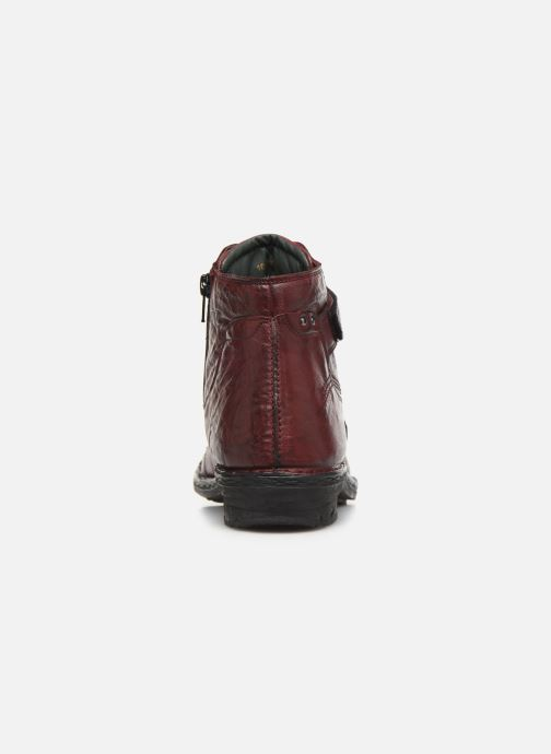 Ankle boots Khrio 10500K Burgundy view from the right