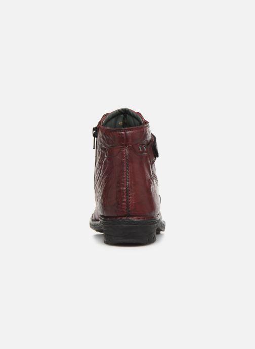 Bottines et boots Khrio 10500K Bordeaux vue droite