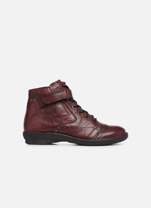 Ankle boots Khrio 10500K Burgundy back view