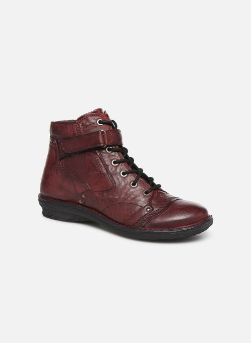 Ankle boots Khrio 10500K Burgundy detailed view/ Pair view