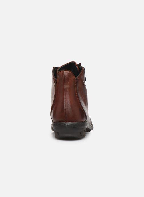 Bottines et boots Khrio 10502K Marron vue droite
