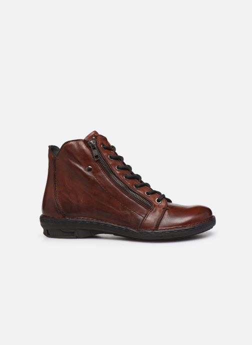 Ankle boots Khrio 10502K Brown back view