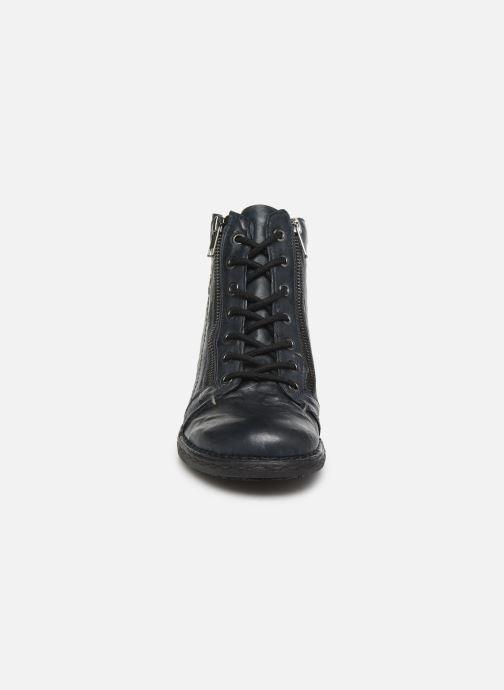 Bottines et boots Khrio 10502K Bleu vue portées chaussures
