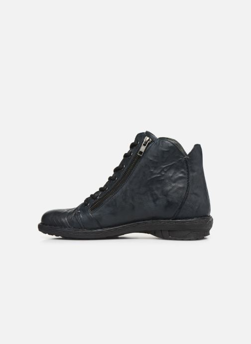 Bottines et boots Khrio 10502K Bleu vue face