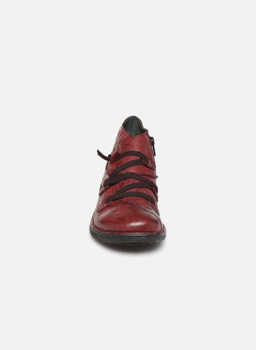 Ankle boots Khrio 10504K Burgundy model view