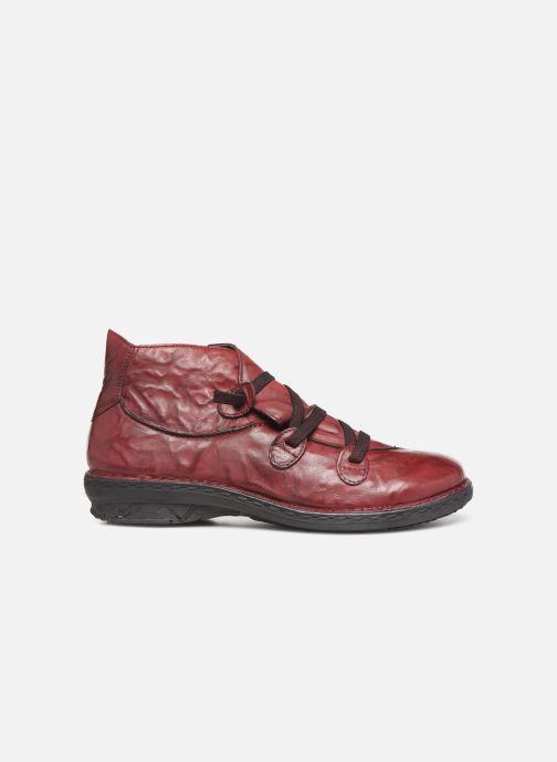 Bottines et boots Khrio 10504K Bordeaux vue derrière