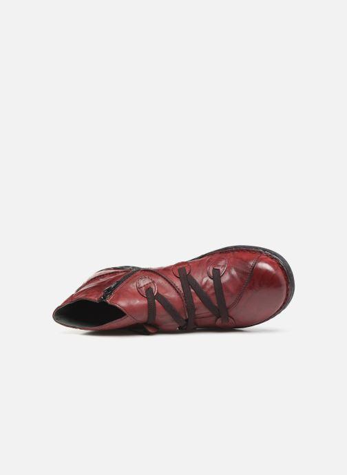 Bottines et boots Khrio 10504K Bordeaux vue gauche