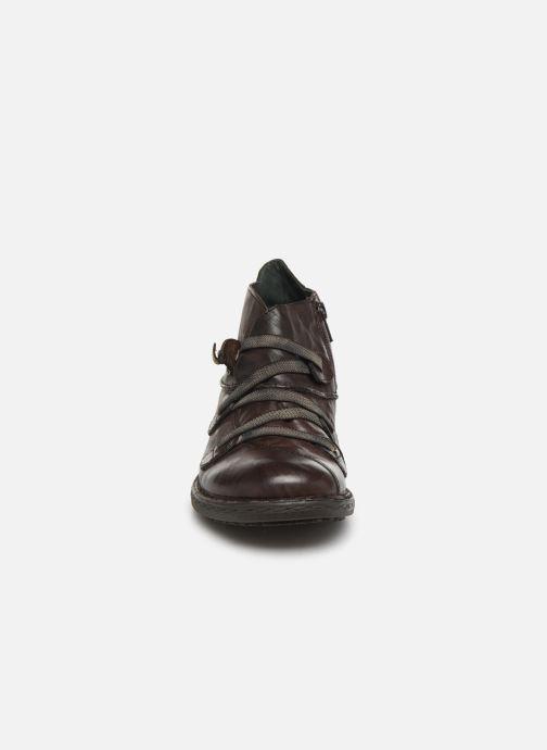 Bottines et boots Khrio 10504K Marron vue portées chaussures